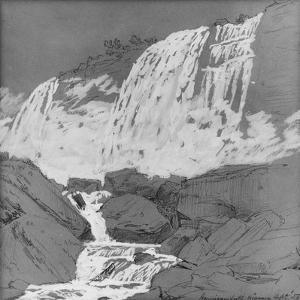 American Falls, Niagara, c.1855 by Jasper Francis Cropsey