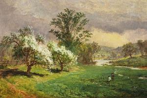 Apple Blossom Time, 1899 by Jasper Francis Cropsey