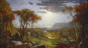 Autumn-On the Hudson River, 1860 by Jasper Francis Cropsey