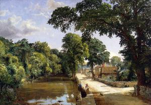Bonchurch, Isle of Wight, 1859 by Jasper Francis Cropsey