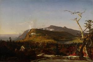 Catskill Mountain House, 1855 by Jasper Francis Cropsey