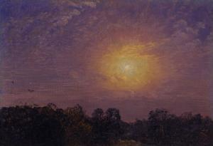 Evening, 1859 by Jasper Francis Cropsey