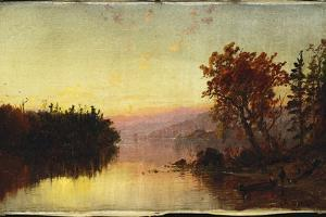 Greenwood Lake at Twilight, 1873 by Jasper Francis Cropsey