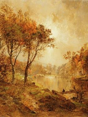 On the Ramapo River, 1888 by Jasper Francis Cropsey