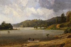 On the Wawayanda Lake, New Jersey, 1873 by Jasper Francis Cropsey