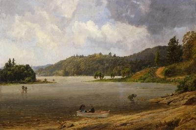 On the Wawayanda Lake, New Jersey, 1873
