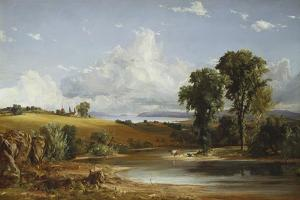 Summer Afternoon on the Hudson, 1852 by Jasper Francis Cropsey