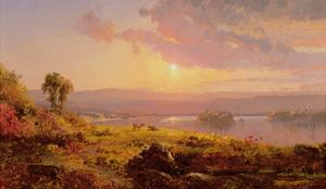 Susquehanna River, 1876 by Jasper Francis Cropsey