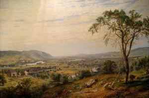 Valley of Wyoming by Jasper Francis Cropsey