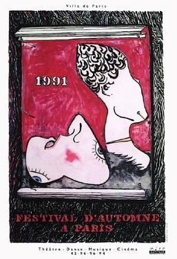 Festival D'Automne by Jasper Johns