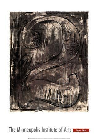Figure 2, 1963 by Jasper Johns