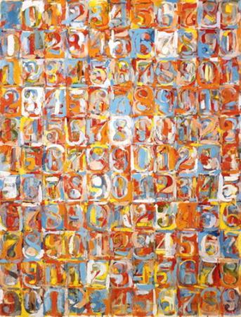 Numbers in Color by Jasper Johns