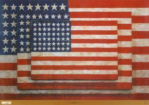 Three Flags by Jasper Johns