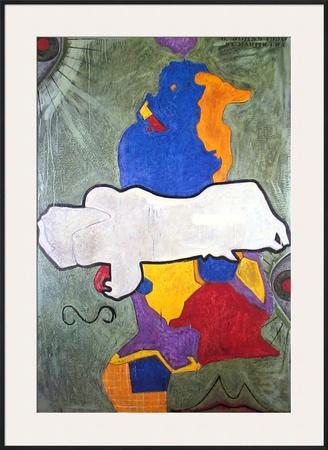 Untitled, 1990 by Jasper Johns