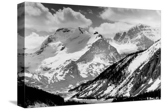 Jasper National Park in the Rockies, Alberta--Stretched Canvas Print