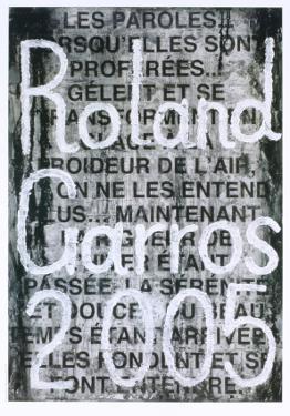 Roland Garros, 2005 by Jaume Plensa