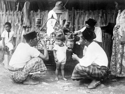 Javanese Bazaar Scene