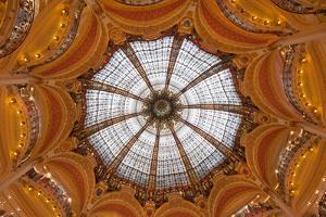 Dome of Galeries Lafayette, Paris, France by javarman