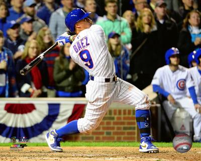 Javier Baez Home Run Game 1 of the 2016 National League Division Series