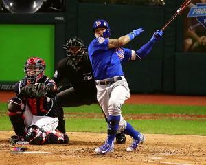 Javier Baez Home Run Game 7 of the 2016 World Series