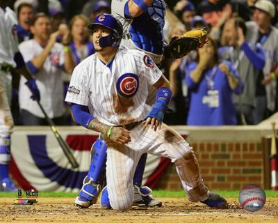 Javier Baez steals home Game 1 of the 2016 National League Championship Series