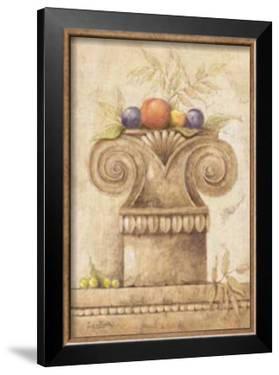 Capiteles con Frutas II by Javier Fuentes