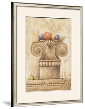 Capiteles con Frutas III by Javier Fuentes