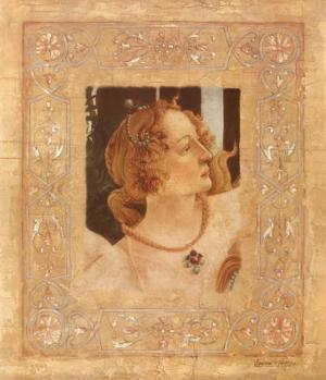 Hommage a Botticelli I by Javier Fuentes