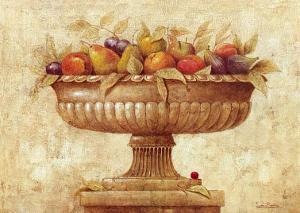 Jarron con Frutas I by Javier Fuentes