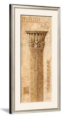 Sepia Column Study I by Javier Fuentes