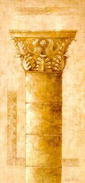 Sepia Column Study II by Javier Fuentes