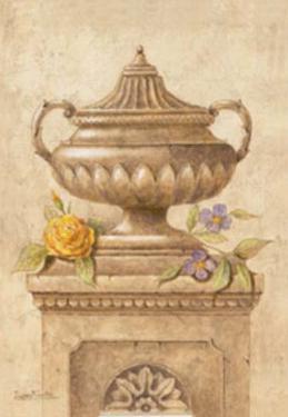 Vasijas con Flores I by Javier Fuentes