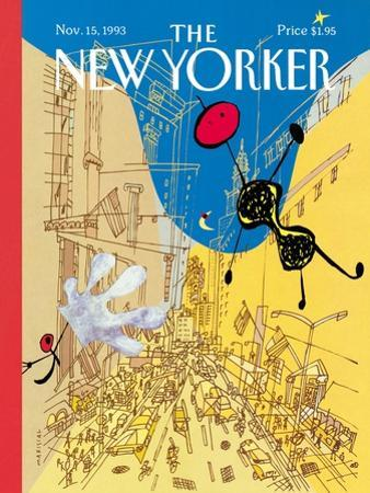 The New Yorker Cover - November 15, 1993