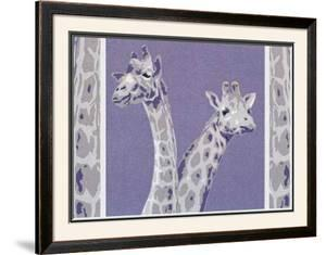 Two Giraffes by Javier Palacios