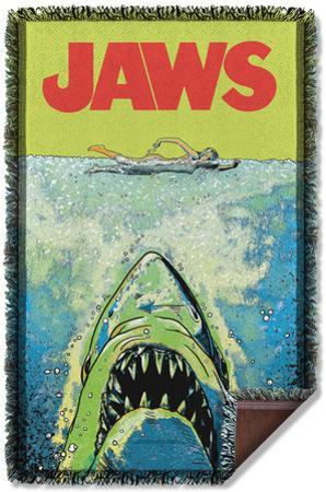 Jaws - Attack Woven Throw