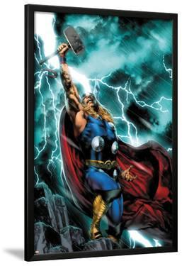 Thor: First Thunder No.1 Cover: Thor Standing by Jay Anacleto