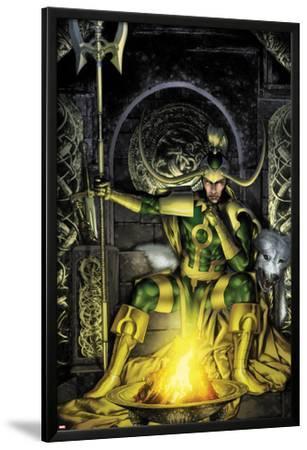Thor: First Thunder No.2 Cover: Loki Sitting