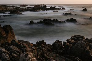 A Long Exposure Of Spanish Bay On The Pacific Coast Along 17 Mile Drive In Monterey by Jay Goodrich