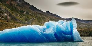 Ice And Scenery Near The Viedma Glacier From Lago Viedma In Los Glaciares NP Patagonia Argentina by Jay Goodrich