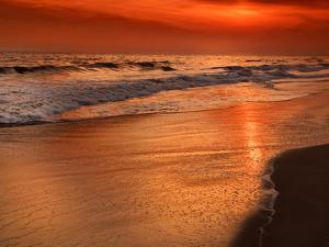 Sunset Reflection, Cape May, New Jersey, USA by Jay O'brien