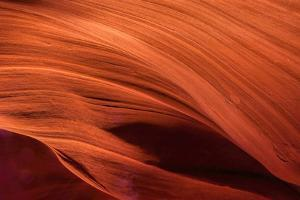 USA, Arizona, Paige. Rock Patterns in Antelope Canyon by Jay O'brien