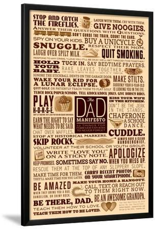 Dad Manifesto- 52 Things Not To Forget by Jay Payleitner