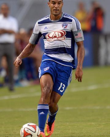 Aug 3, 2014 - MLS: FC Dallas vs Chivas USA - Tesho Akindele