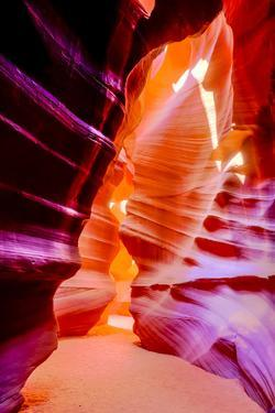 Arizona, Page, Upper Antelope Slot Canyon. Canyon Scenic by Jaynes Gallery