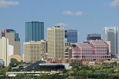Canada, Alberta, Edmonton. City skyline. by Jaynes Gallery