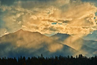 Canada, British Columbia, Kootenay National Park. Sunset in Canadian Rocky Mountains. by Jaynes Gallery