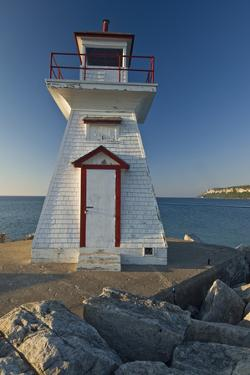 Canada, Ontario, Lions Head. Lighthouse on Georgian Bay by Jaynes Gallery