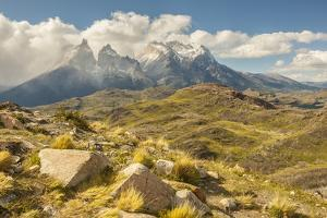Chile, Patagonia. The Horns mountains. by Jaynes Gallery