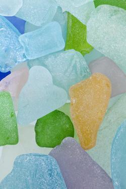 Close-Up of Colorful Beach Glass, Washington, USA by Jaynes Gallery