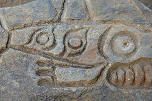 Close-Up of Prehistoric Petroglyph, Wrangell, Alaska, USA by Jaynes Gallery